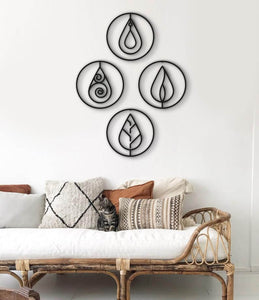 All The Elements Metal Wall Art & Wall Hanging - Hencely