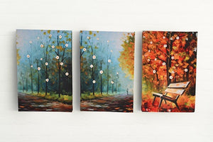 """Autumn Gloom"" Canvas Painting Decor & Canvas Wall Art Picture - Hencely"