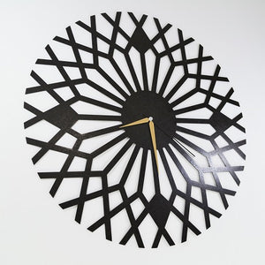 The Linear | Contemporary Wall Clock Art | Decorative Hanging  Clock - Hencely