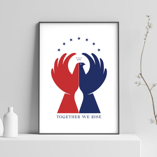Together We Rise: White
