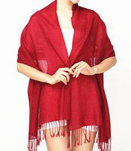 Load image into Gallery viewer, Ullhalsduk - Vinröd