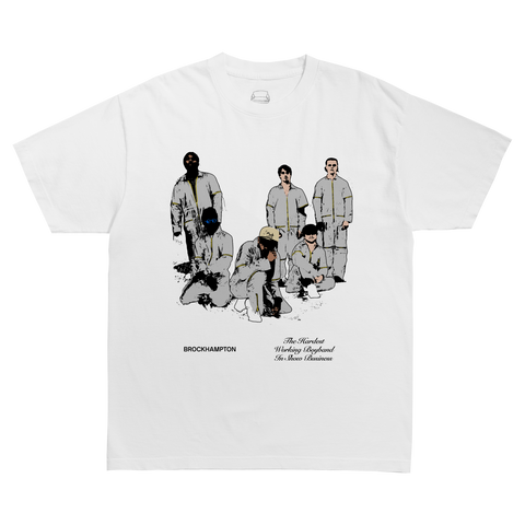 BH SILVER SUIT ILLUSTRATION T-SHIRT + DIGITAL ALBUM