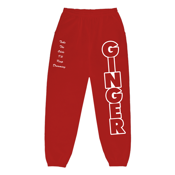 GINGER LOGO SWEATPANTS + DIGITAL ALBUM