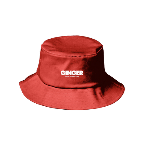 GINGER LOGO BUCKET HAT II + DIGITAL ALBUM
