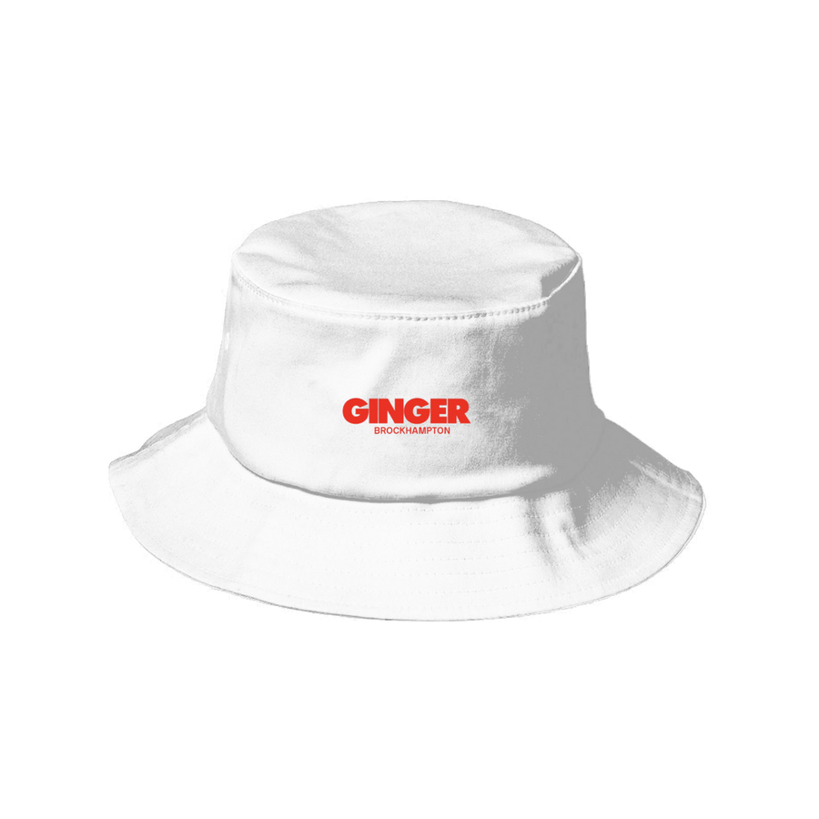 GINGER LOGO BUCKET HAT I + DIGITAL ALBUM