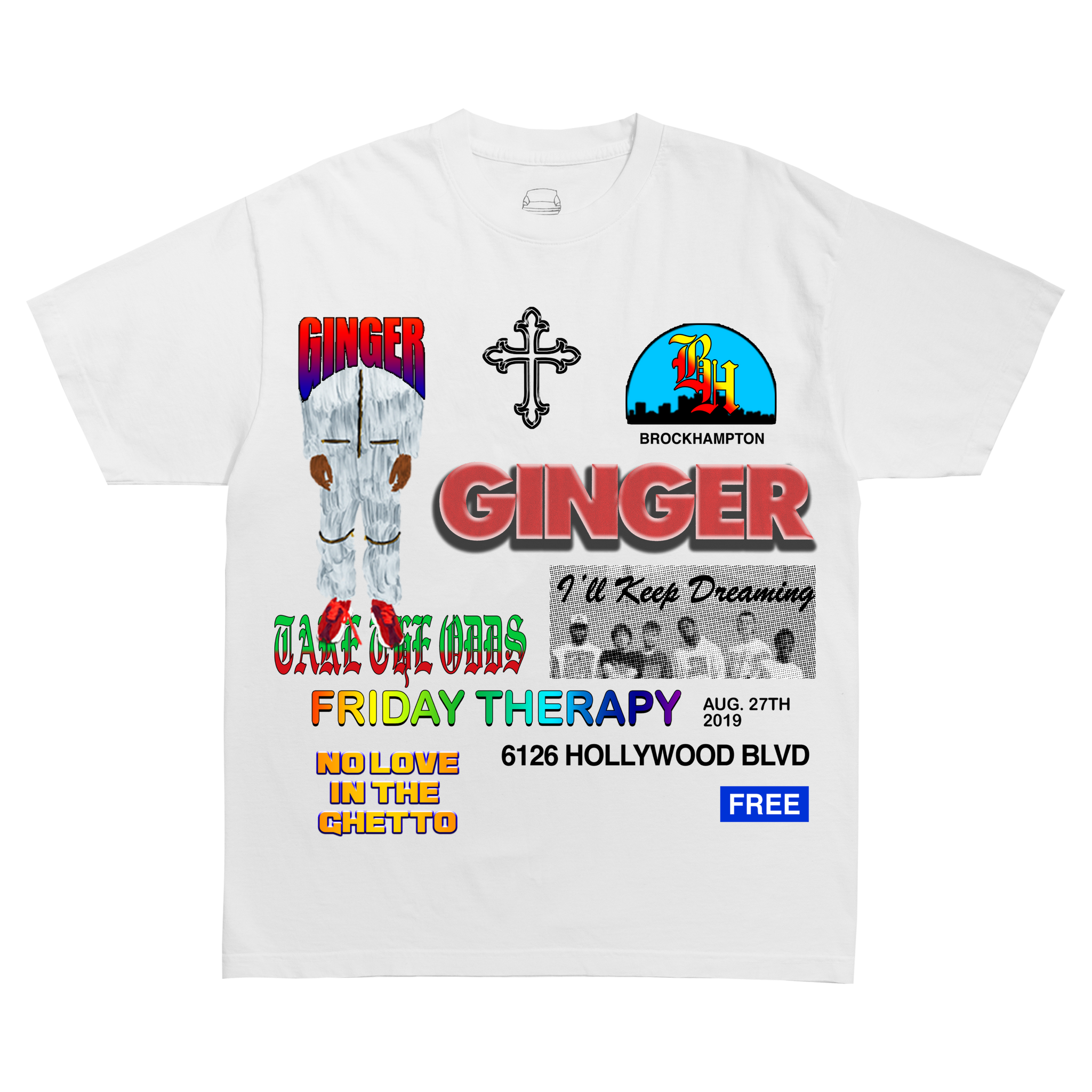 FRIDAY THERAPY T-SHIRT + DIGITAL ALBUM
