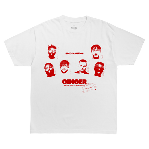GINGER ESSENTIAL T-SHIRT + DIGITAL ALBUM