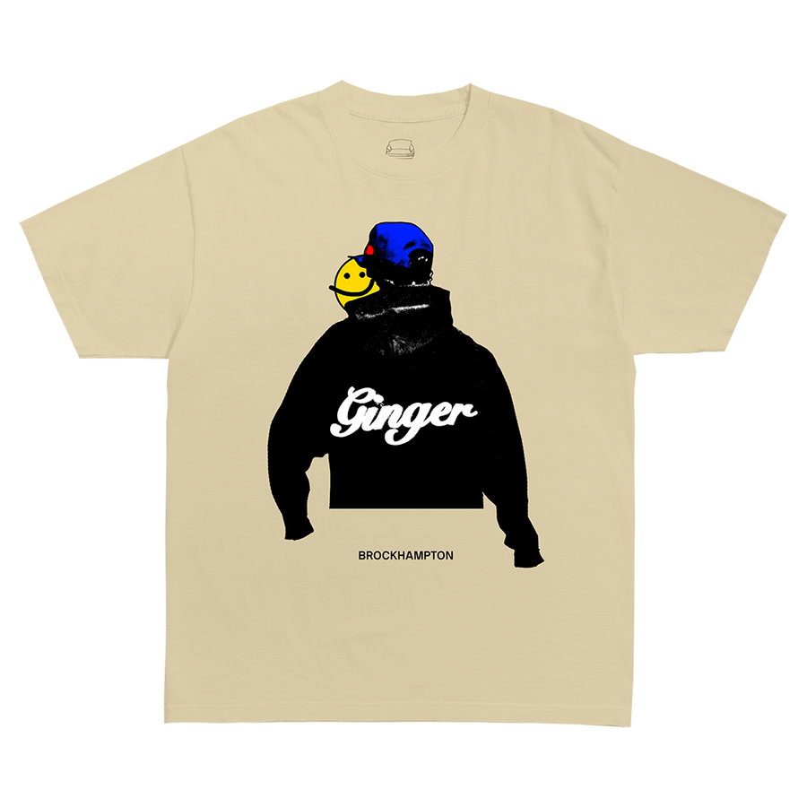 ROMIL GINGER T-SHIRT + DIGITAL ALBUM