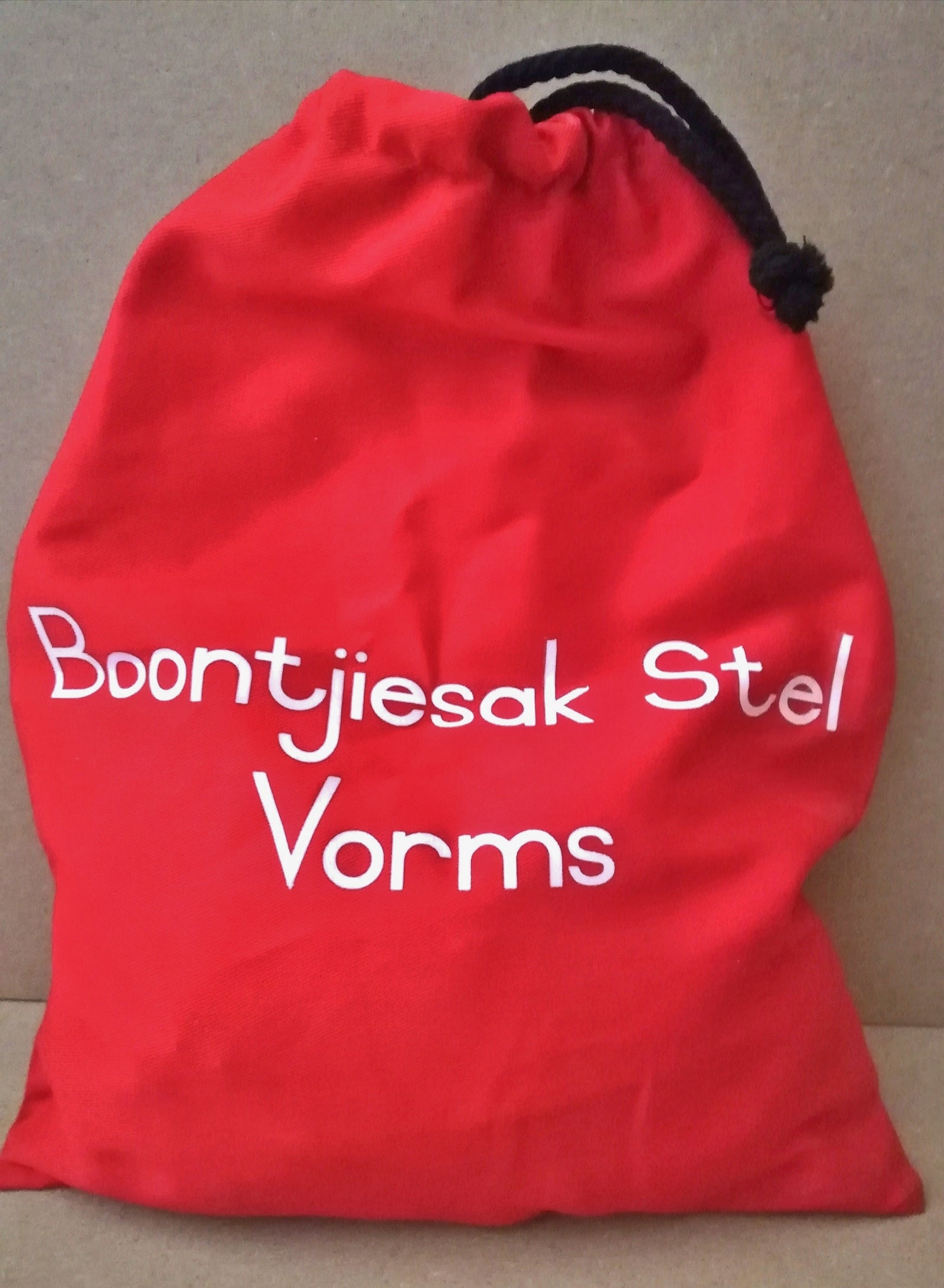 Bean Bag Kit Afrikaans Vorms
