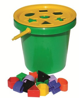 Sort & Play lid, shapes and bucket