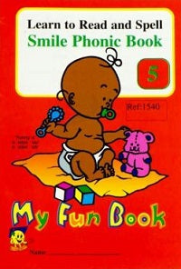 Book - Phonic 5 - My Fun Book