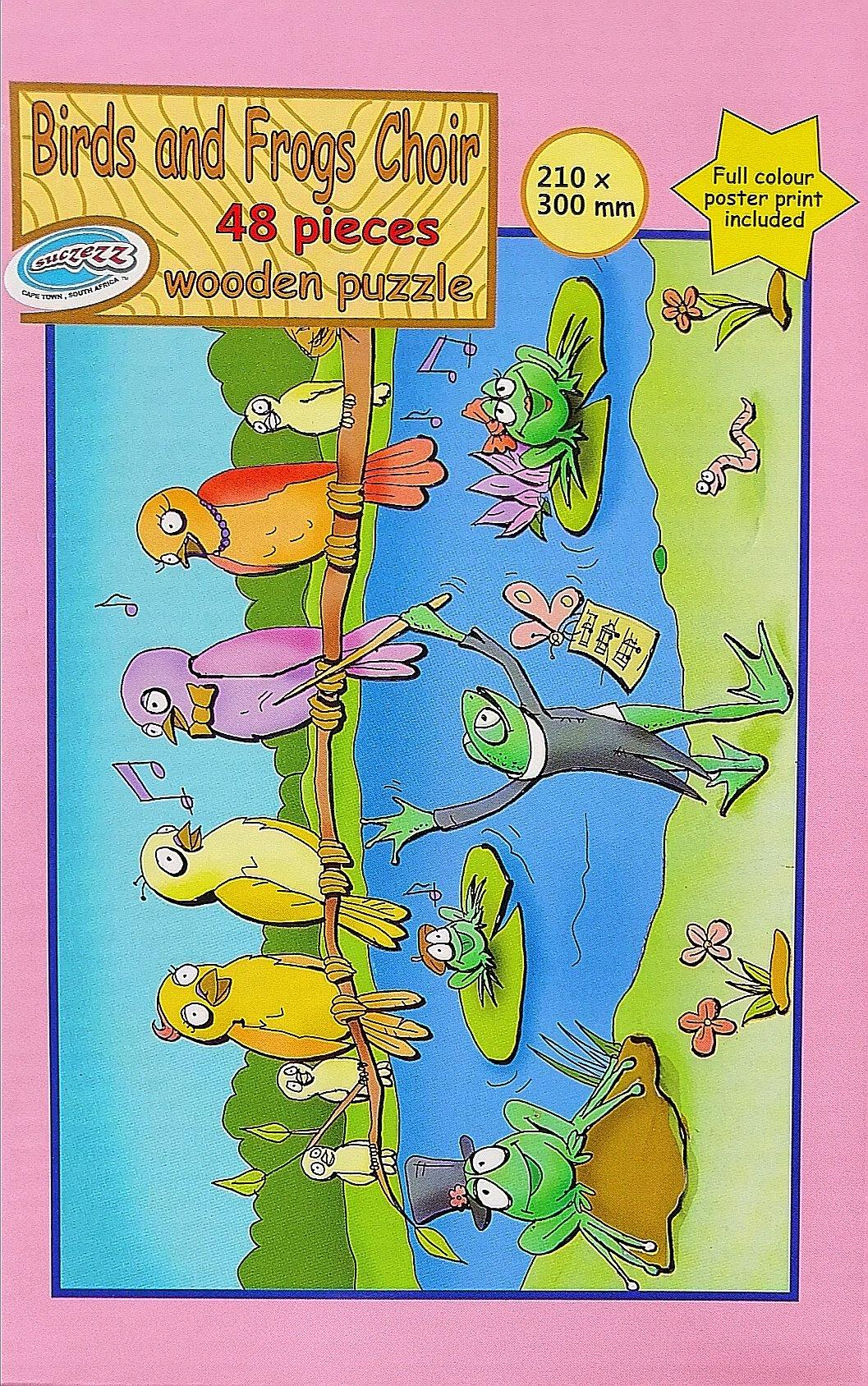 Puzzle - 48 pc Birds and Frogs Choir