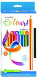 Colouring Pencils 12's Iwrite