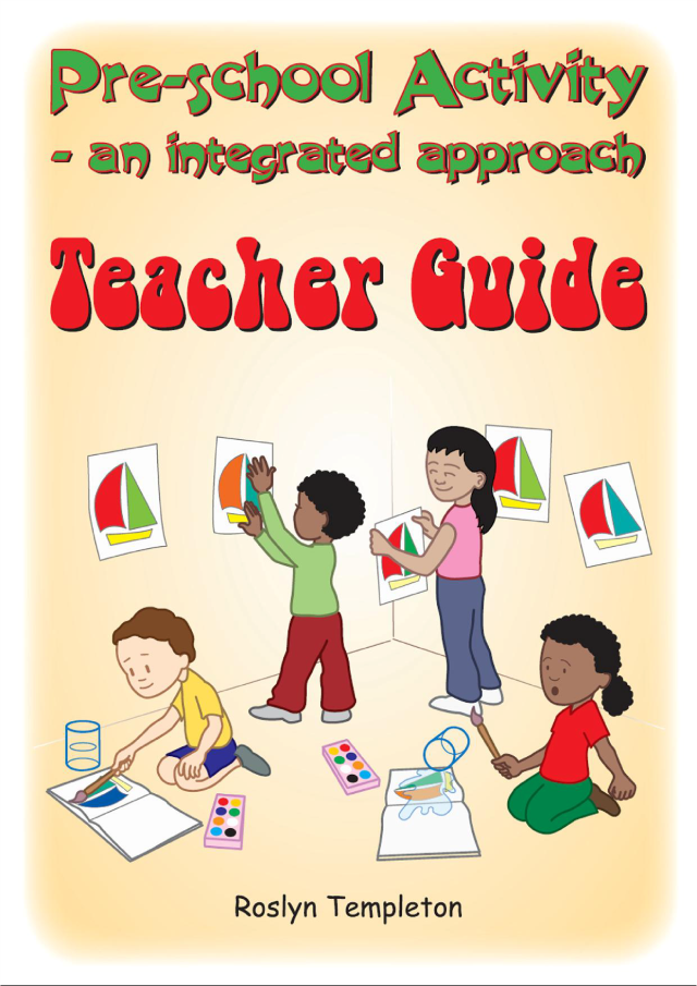 Book Pre School Activity - Teacher Guide
