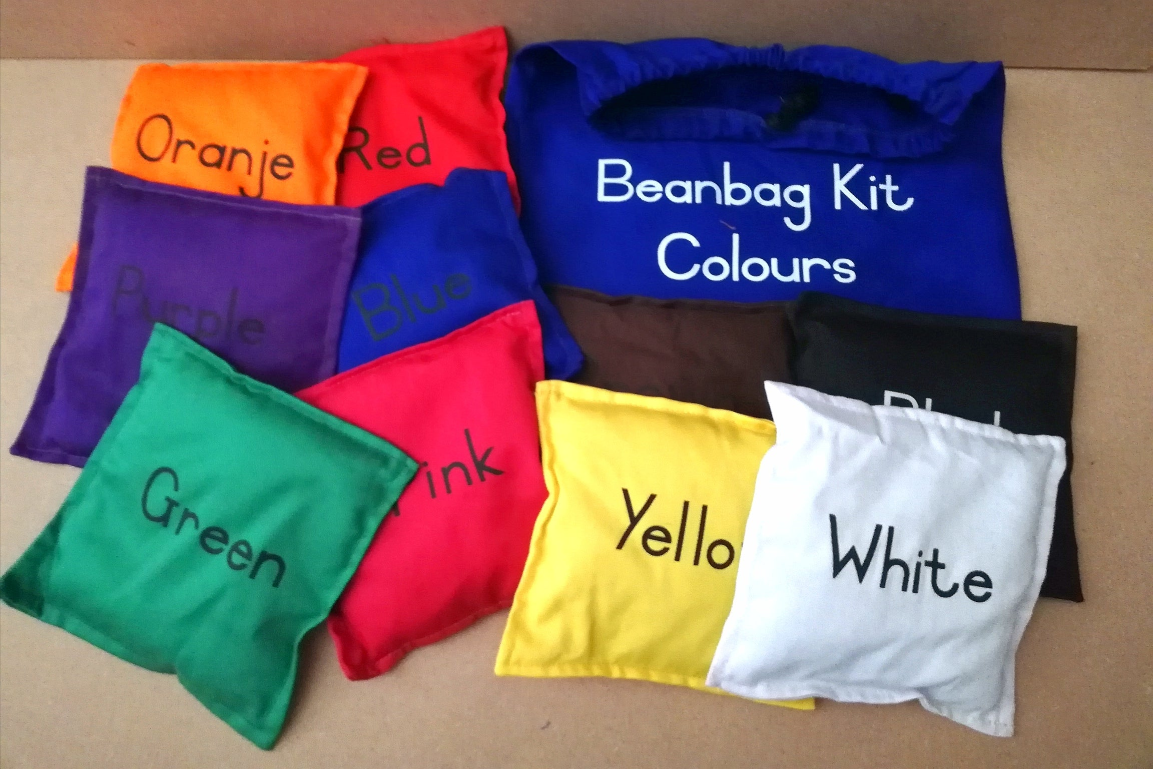 Bean Bag Kit Colours