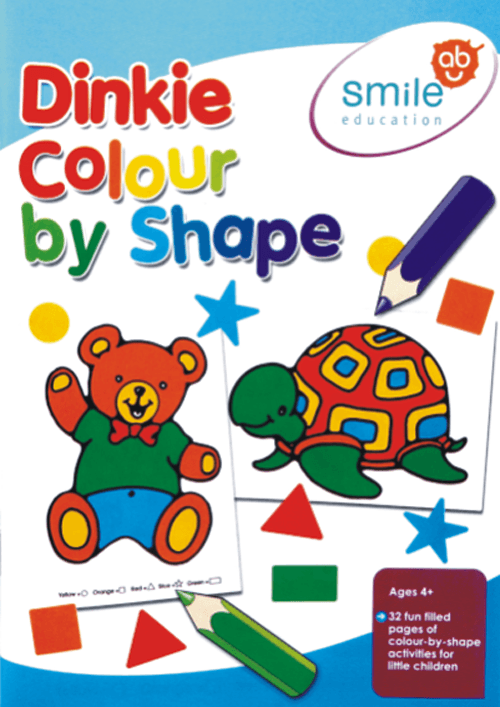 Book - Dinkie Colour by Shape