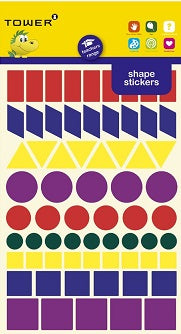 Stickers - Shapes - 132's