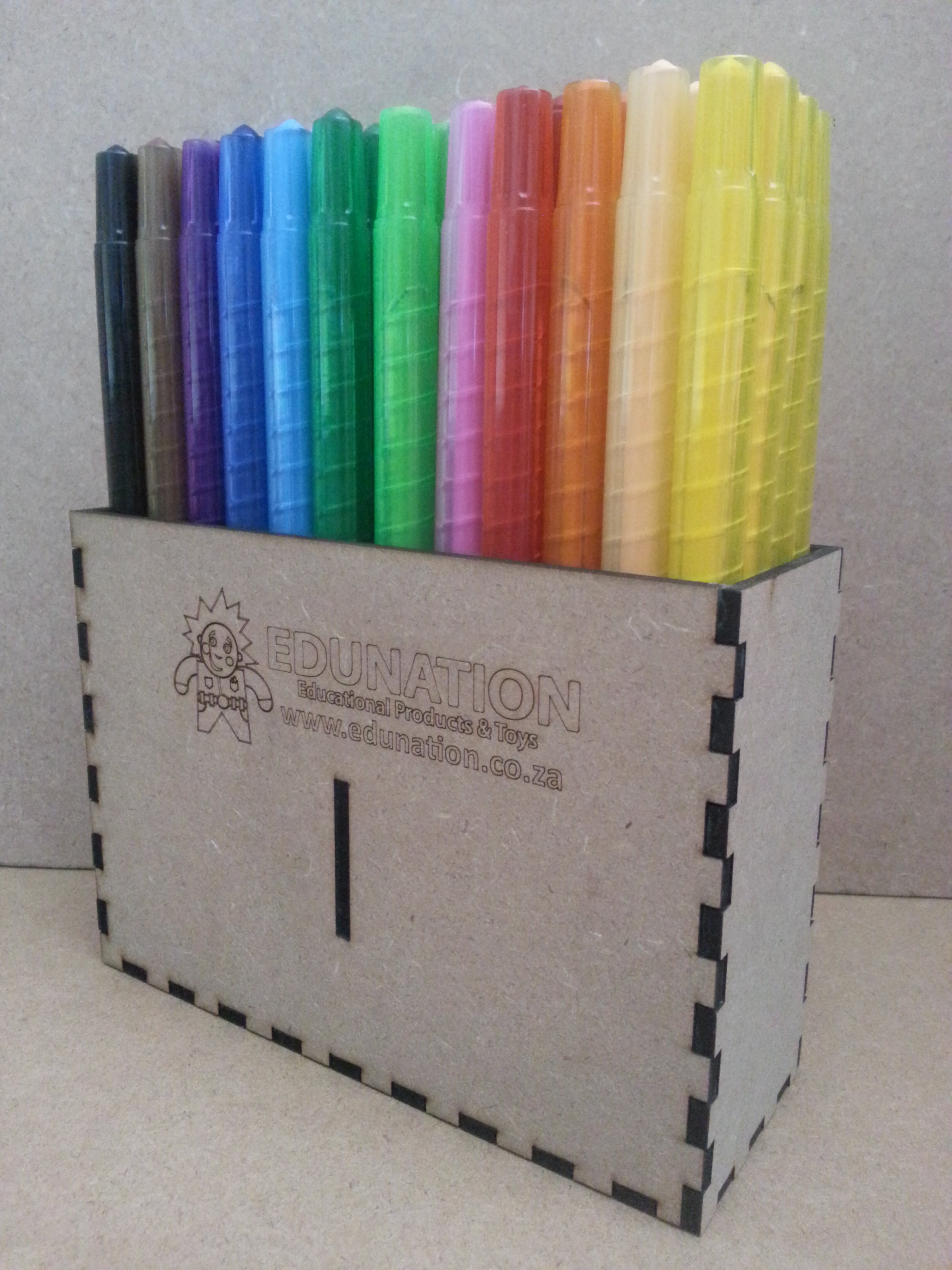Crayon Caddy Retractable/Twisters set with 48 Crayons