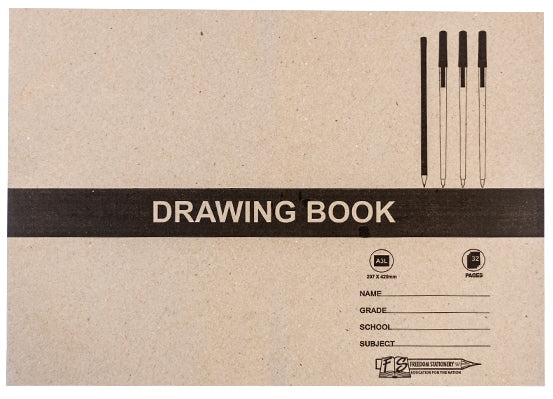 Drawing Book Landscape A4 32page