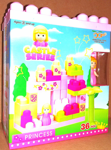 City Series Princess Blocks 36pc