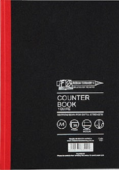 Book Counter 96pg A4 F/M 1 Quire