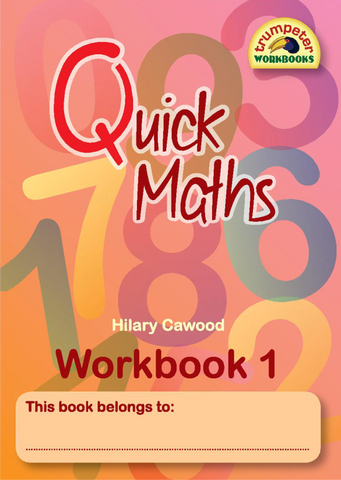 Book Quick Maths Workbook 1