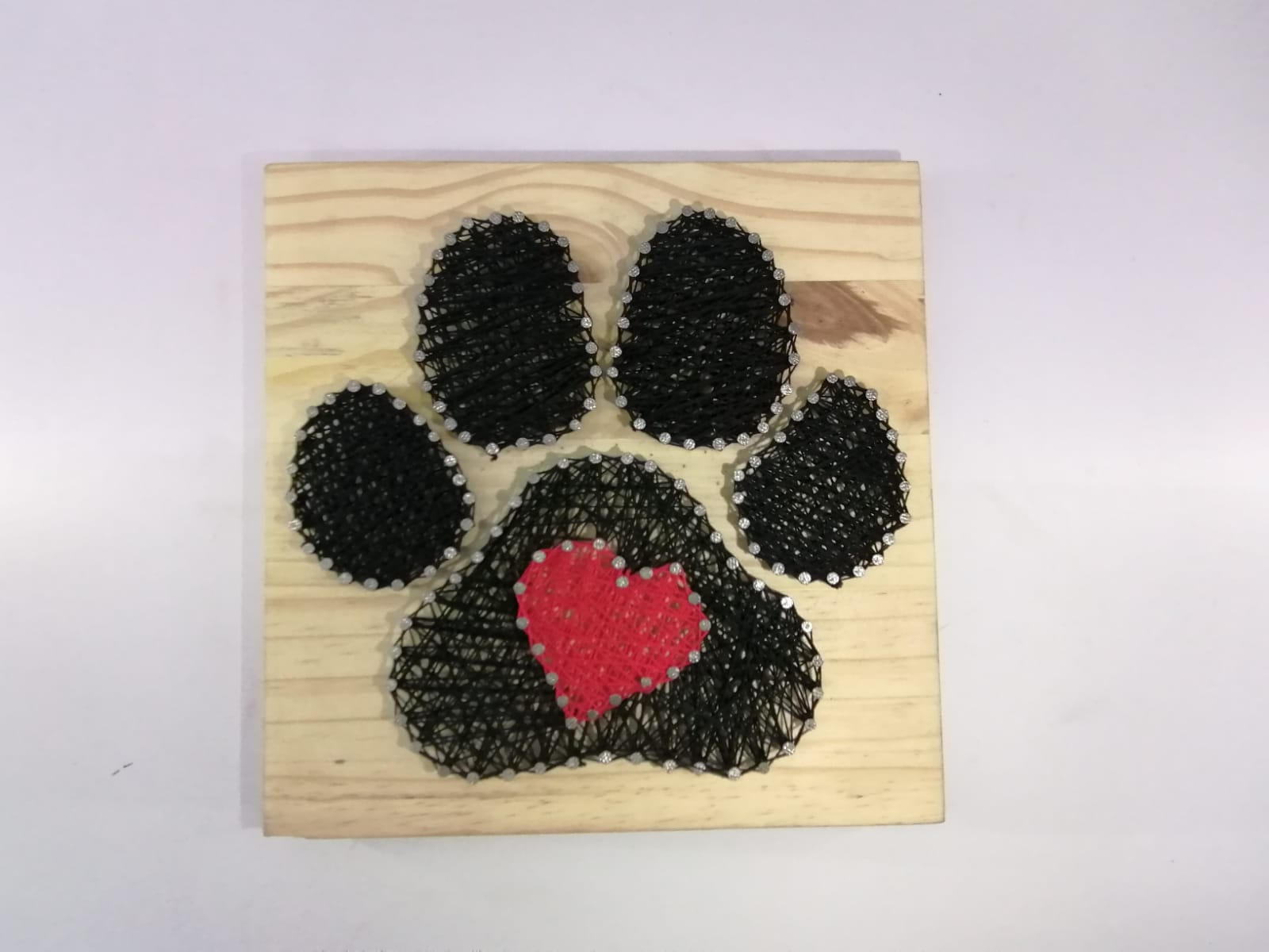 Hartsnare - Dog Paw 225mmx225mm