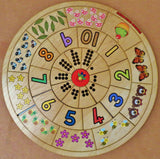 Counting Circle Puzzle - Afrikaans