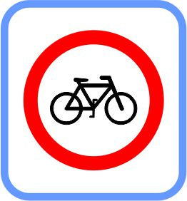 Road signs - Metal - Bicycle Lane, (courier costs do not apply contact for quotation)