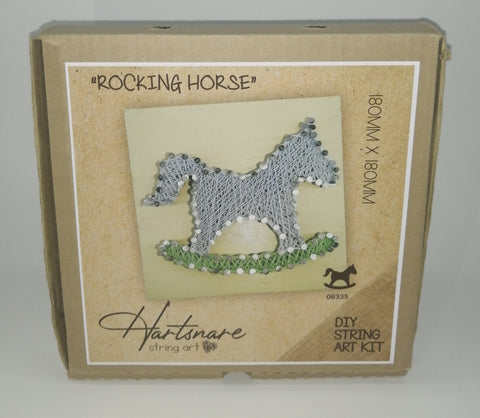Hartsnare - Rocking Horse 180mmx180mm