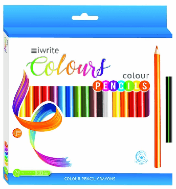 Colouring Pencils 24's Iwrite