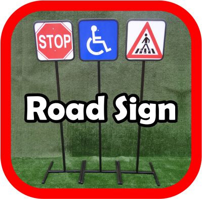 Road signs - Metal - Pedestrians, (courier costs do not apply contact for quotation)