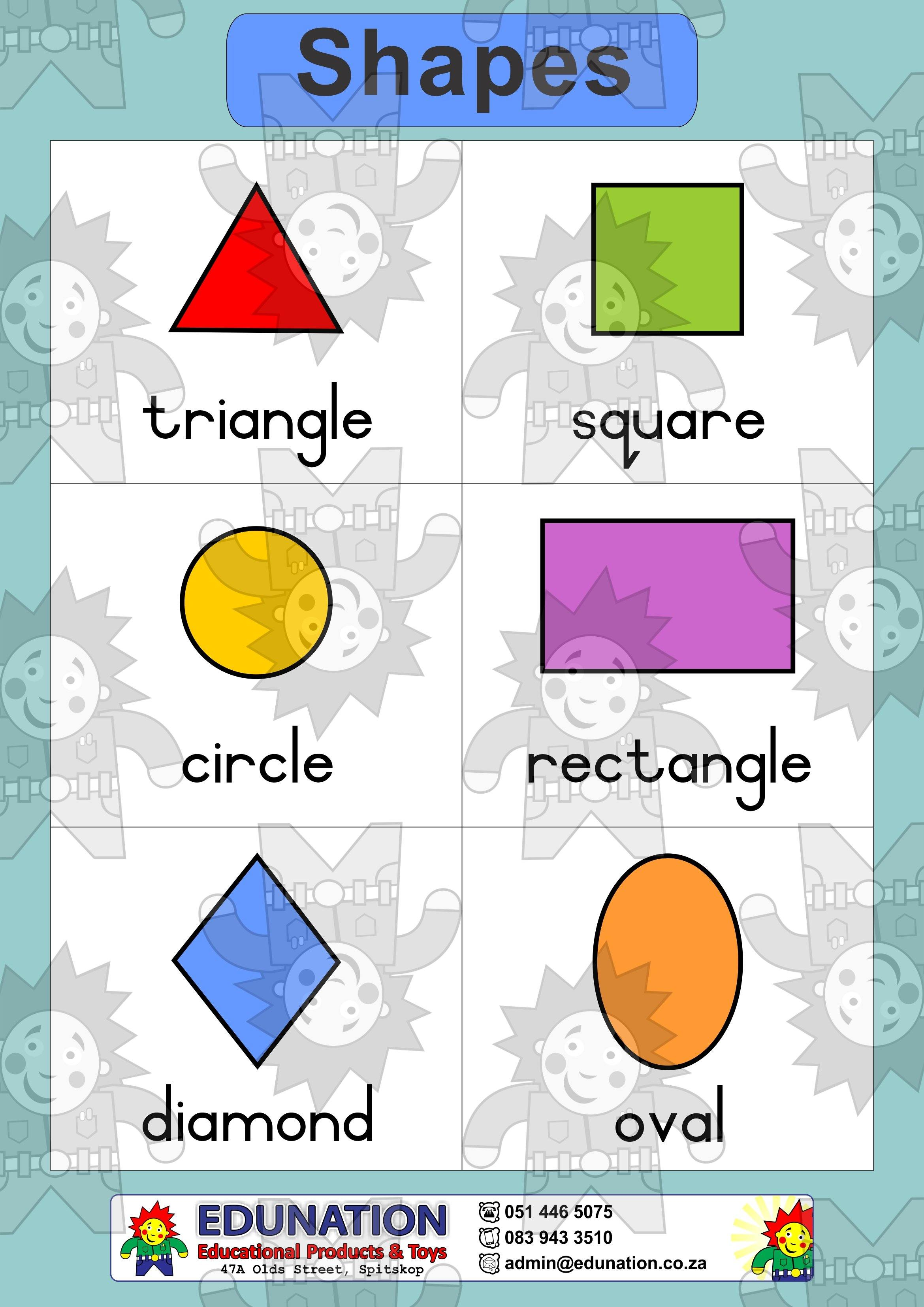 2D Shapes - Double Sided