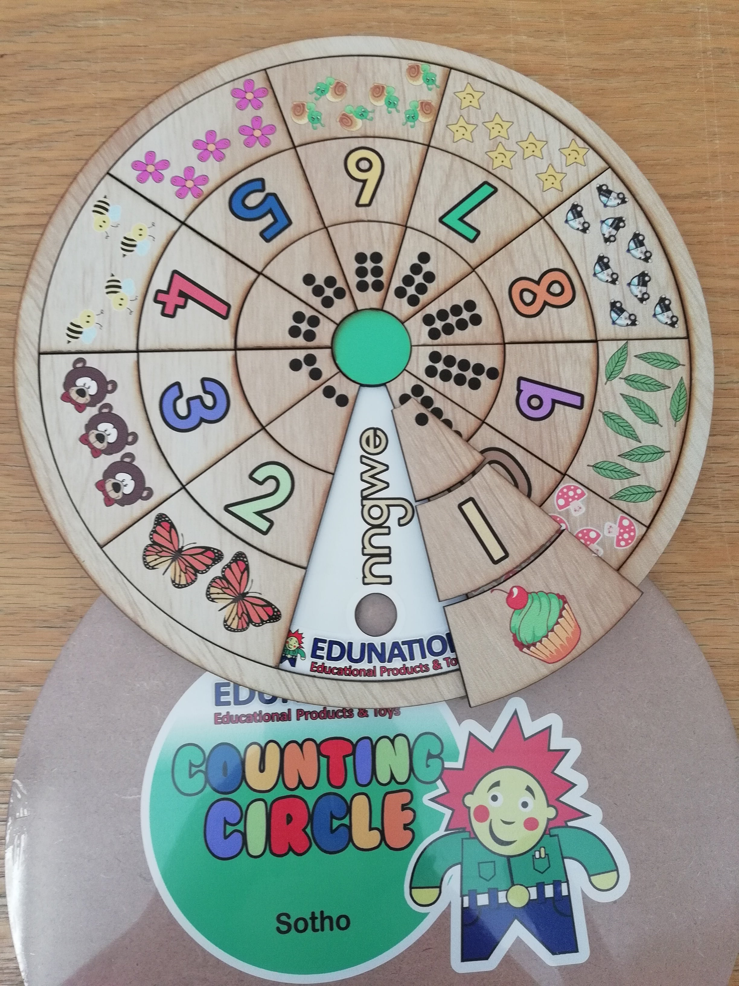 Counting Circle Puzzle - Sotho