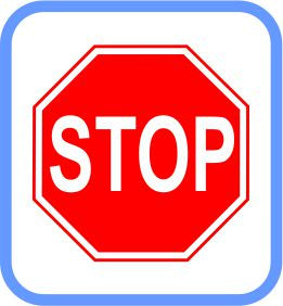 Road signs - Metal - Stop Sign, (courier costs do not apply contact for quotation)