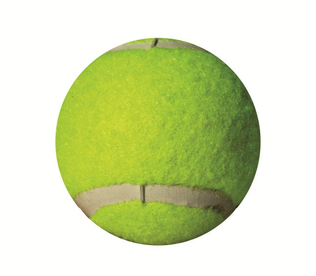 Ball Tennis Yellow