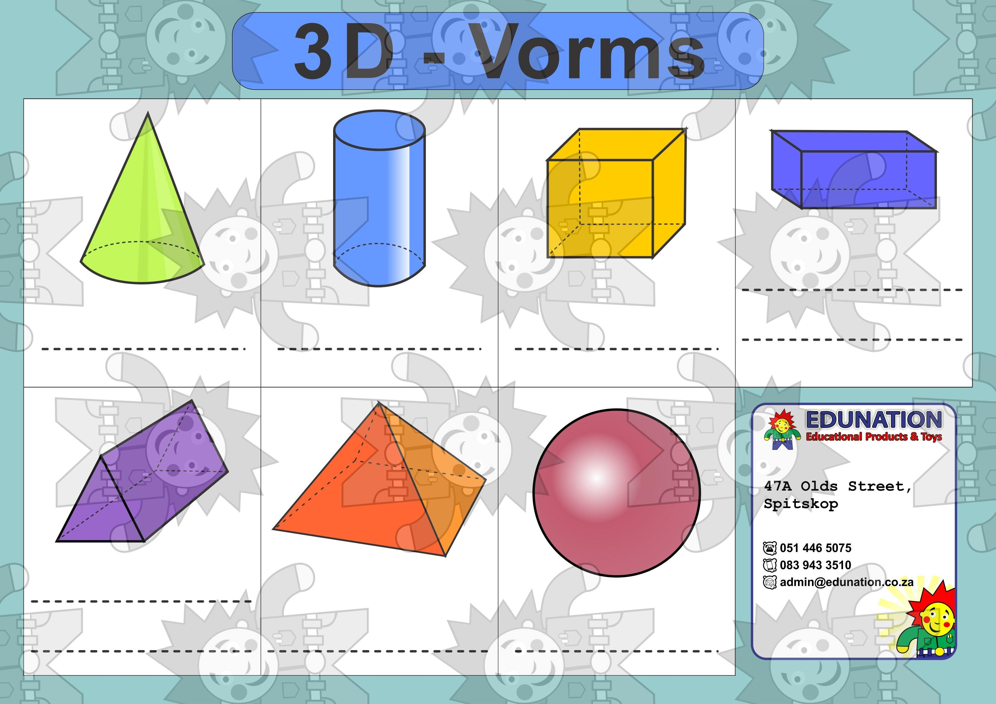 3D Vorms - Double Sided