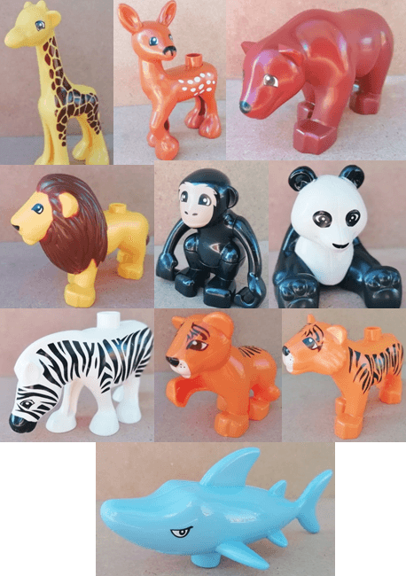 Blocks Animals Jumbo