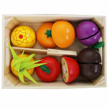 Kitchen - Wooden Fruit and Veg Cutting Assorted