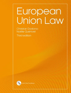 European Union Law - 3rd Edition