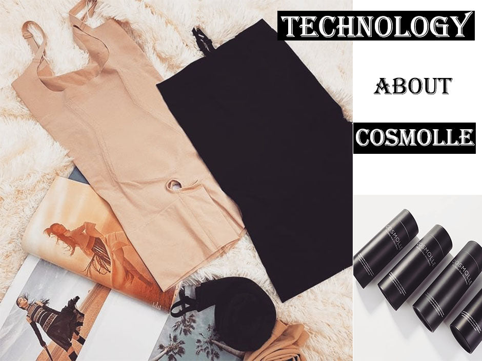 Not only Fabrics and Styles, But Cosmolle's Technology