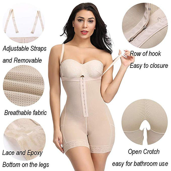 Cosmolle Removable Straps Body Shapewear