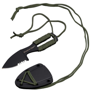 Shadow Ops Neck Knife Green