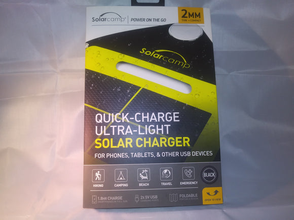 Solar Camp Quick Charge Ultra LIght Solar Charger