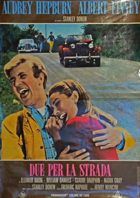 Two For The Road  Italy 1966 -Due Per La Strada, Audrey Hepburn, Albert Finney