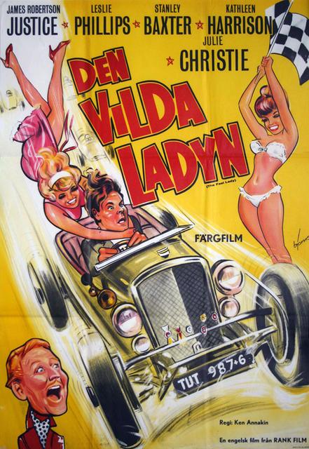 The Fast Lady  Sweden 1962