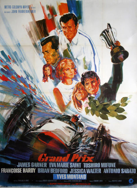Original Movie Poster Grand Prix 1967