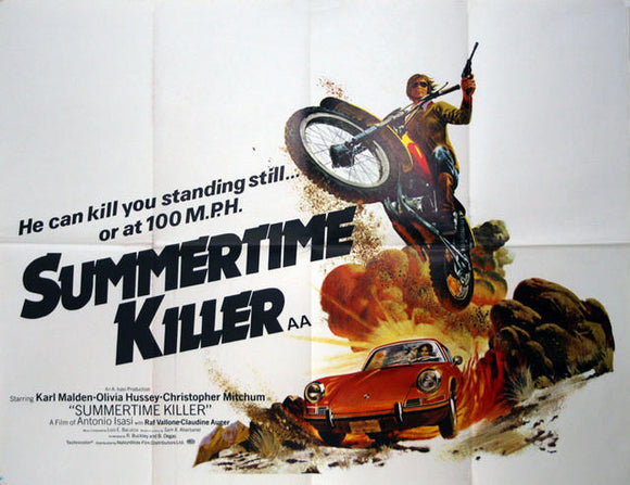 Summertime Killer  UK Quad 1972