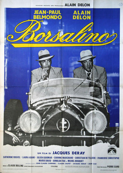 Borsalino - Original Italian Movie Poster 1970