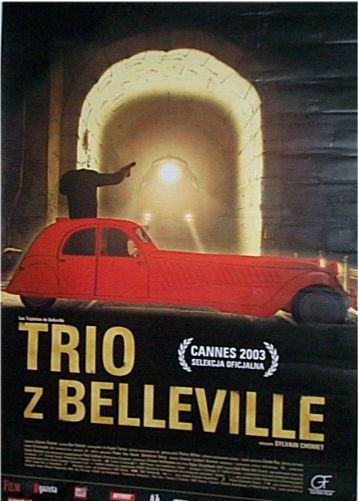 The Triplets of Belleville  Poland 2003